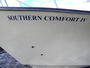 southern comfort hull fishing charters