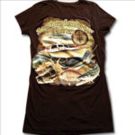 ladies v neck front apparel